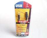 BELKIN USB A-B CABLE 6FT