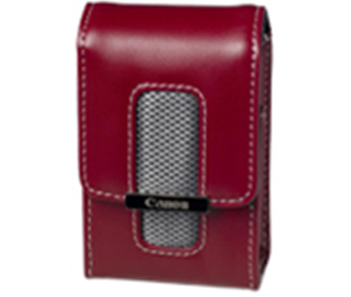 CANON RED ELITE ELPH SERIES II LEATHER CASE