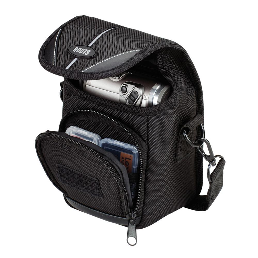 ROOTS RSW4 BLACK EXECUTIVE CAMERA POUCH
