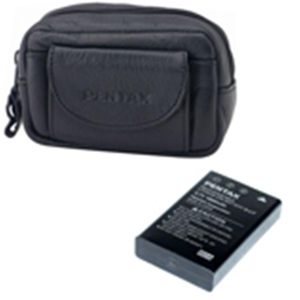 PENTAX 750Z ACCESSORY KIT (CASE, BATT, CLOTH)