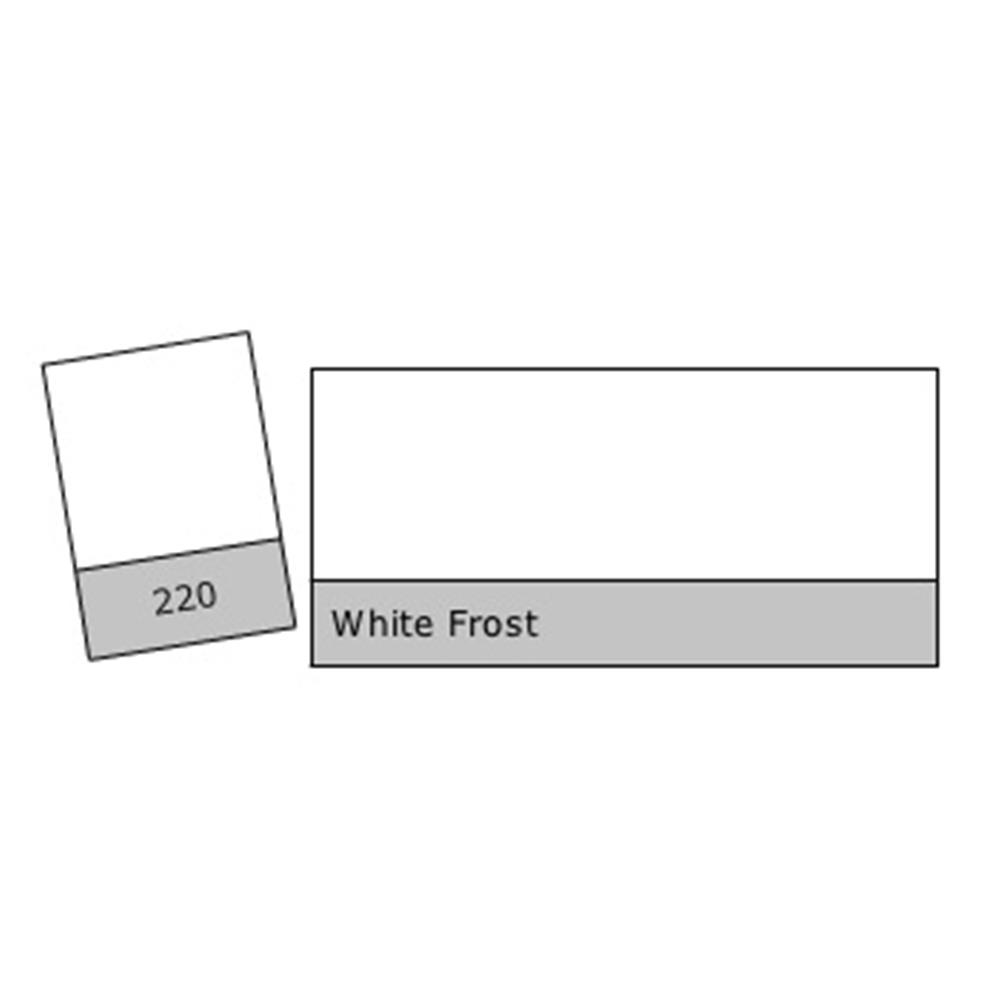 LEE FILTER GEL S220 WHITE FROST