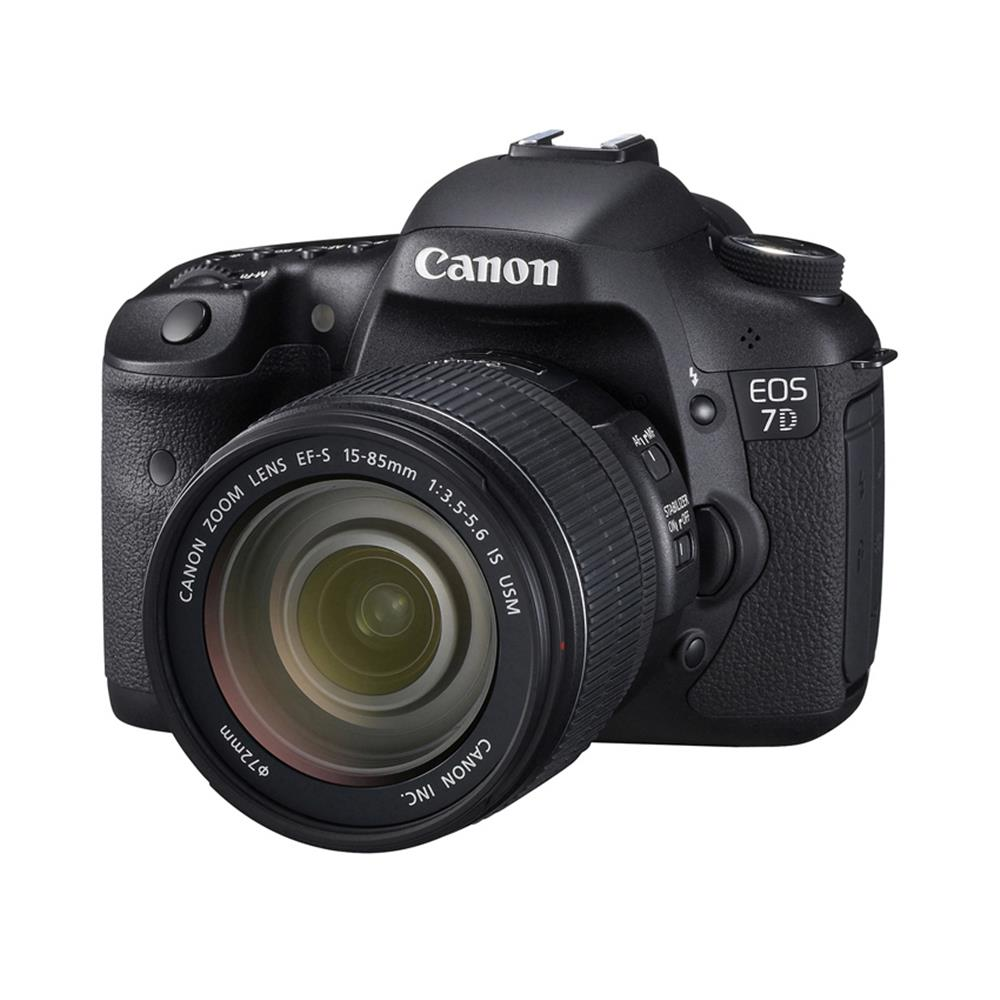 CANON EOS 7D W/15-85 EF-S USM IS LENS