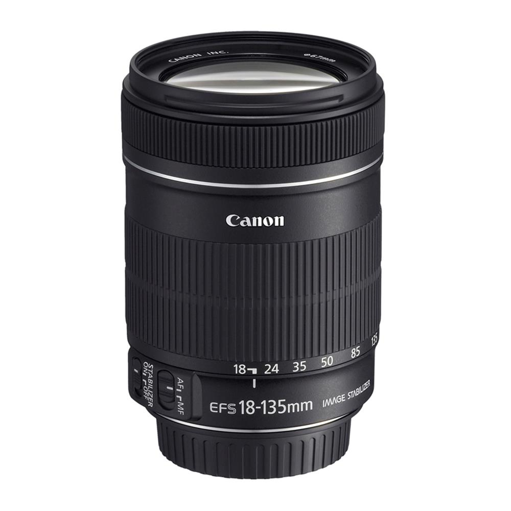 CANON EF-S 18-135MM 3.5-5.6 IS LENS