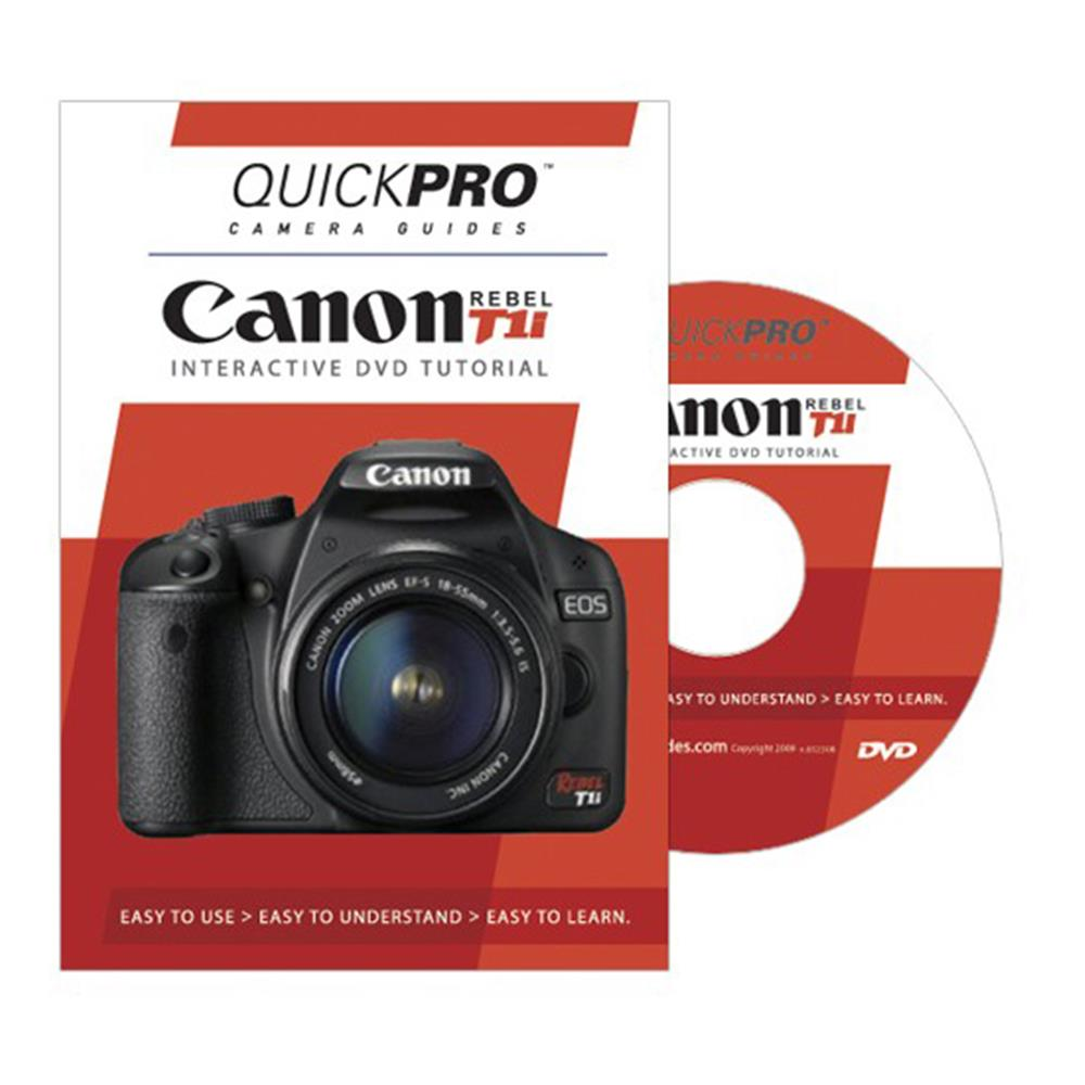 QUICKPRO CANON T1I GUIDE