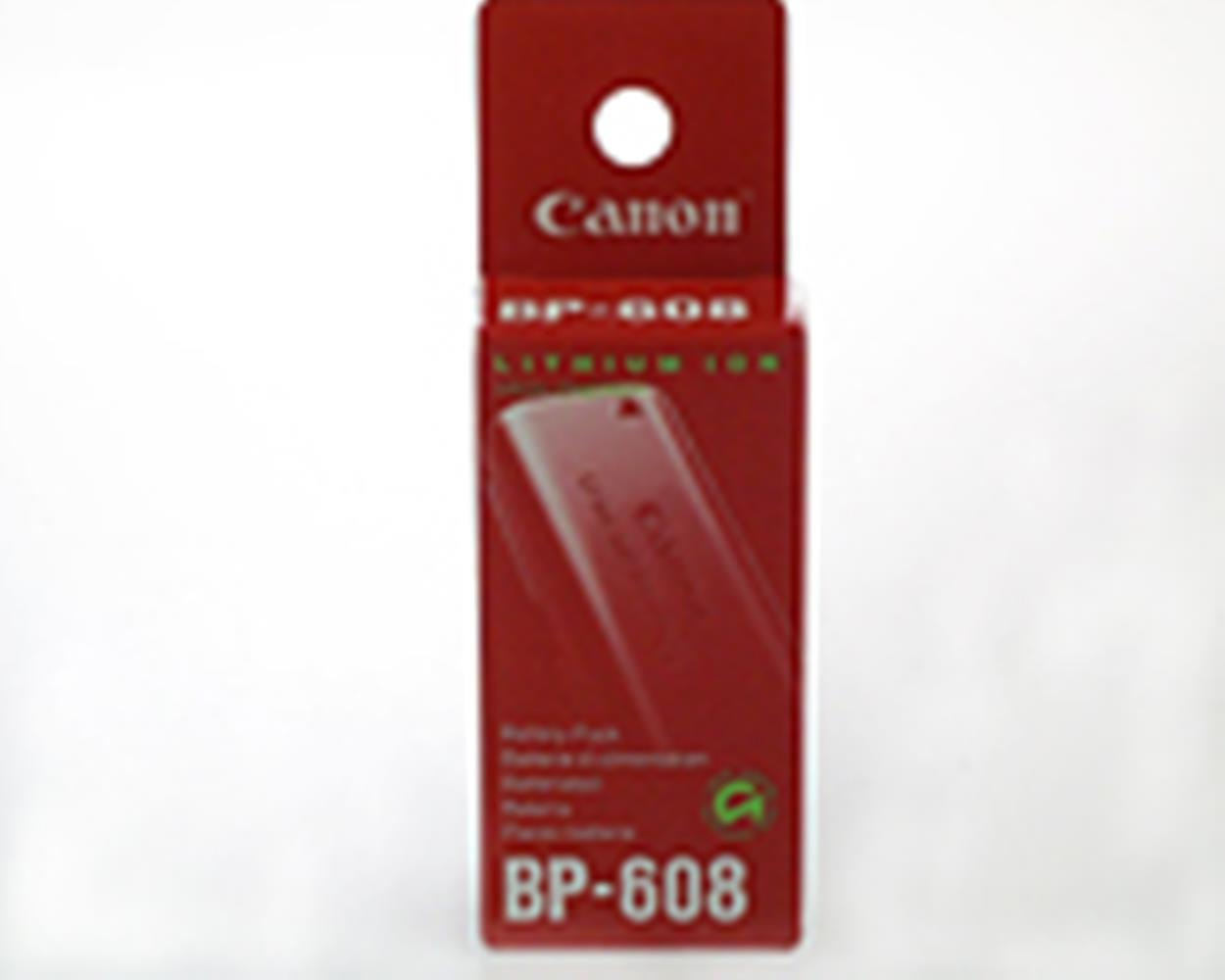 CANON BP608 750MAH BATTERY FOR ZR/ELURA