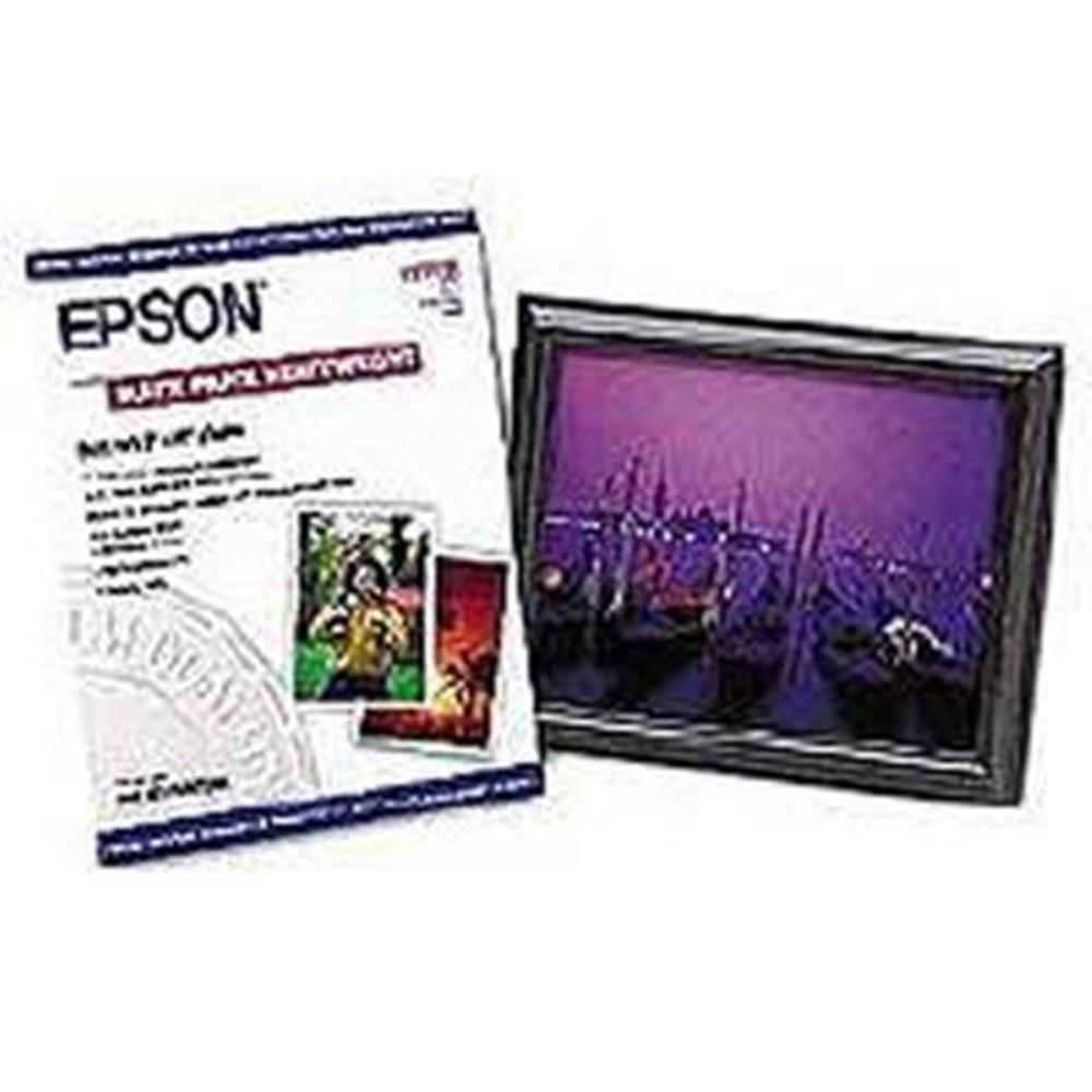 EPSON BORDERLESS MATTE PAPER 8X10 50STS
