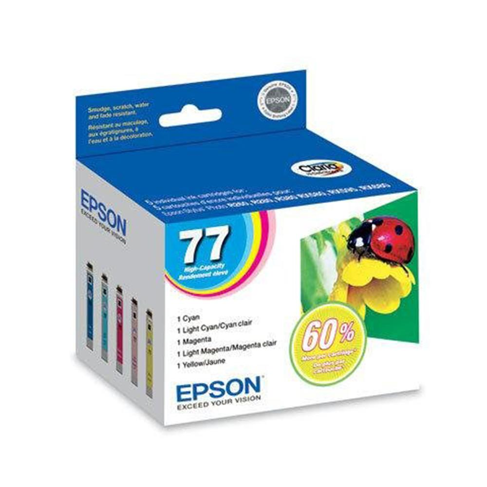 EPSON MULTI PACK COLOUR HI CAP INK (77)