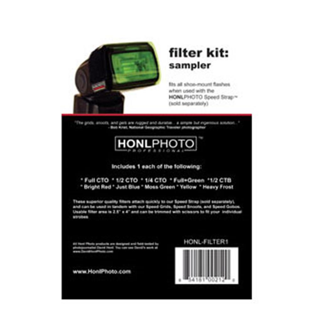 HONL PHOTO GEL SAMPLER FILTER KIT