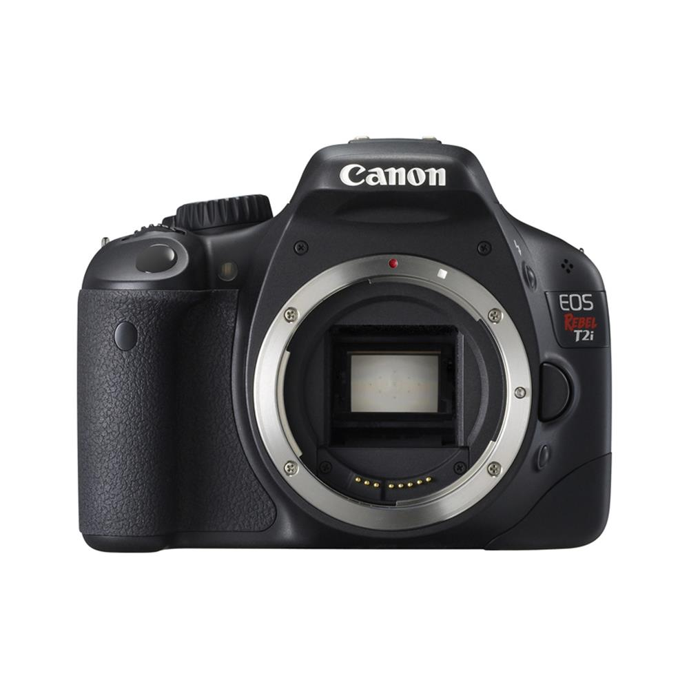 CANON REBEL T2I D-SLR BODY