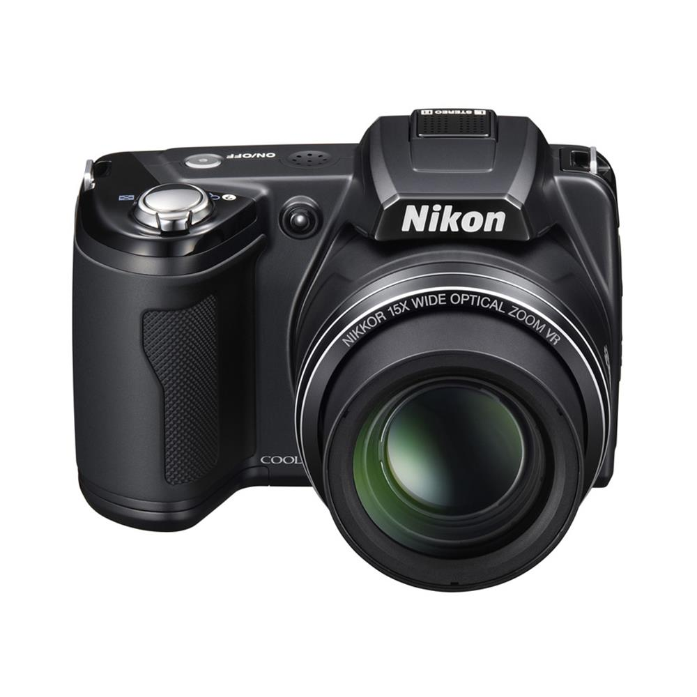 NIKON COOLPIX L110 BLACK 12.1MP 15X WIDE ANGLE 3""