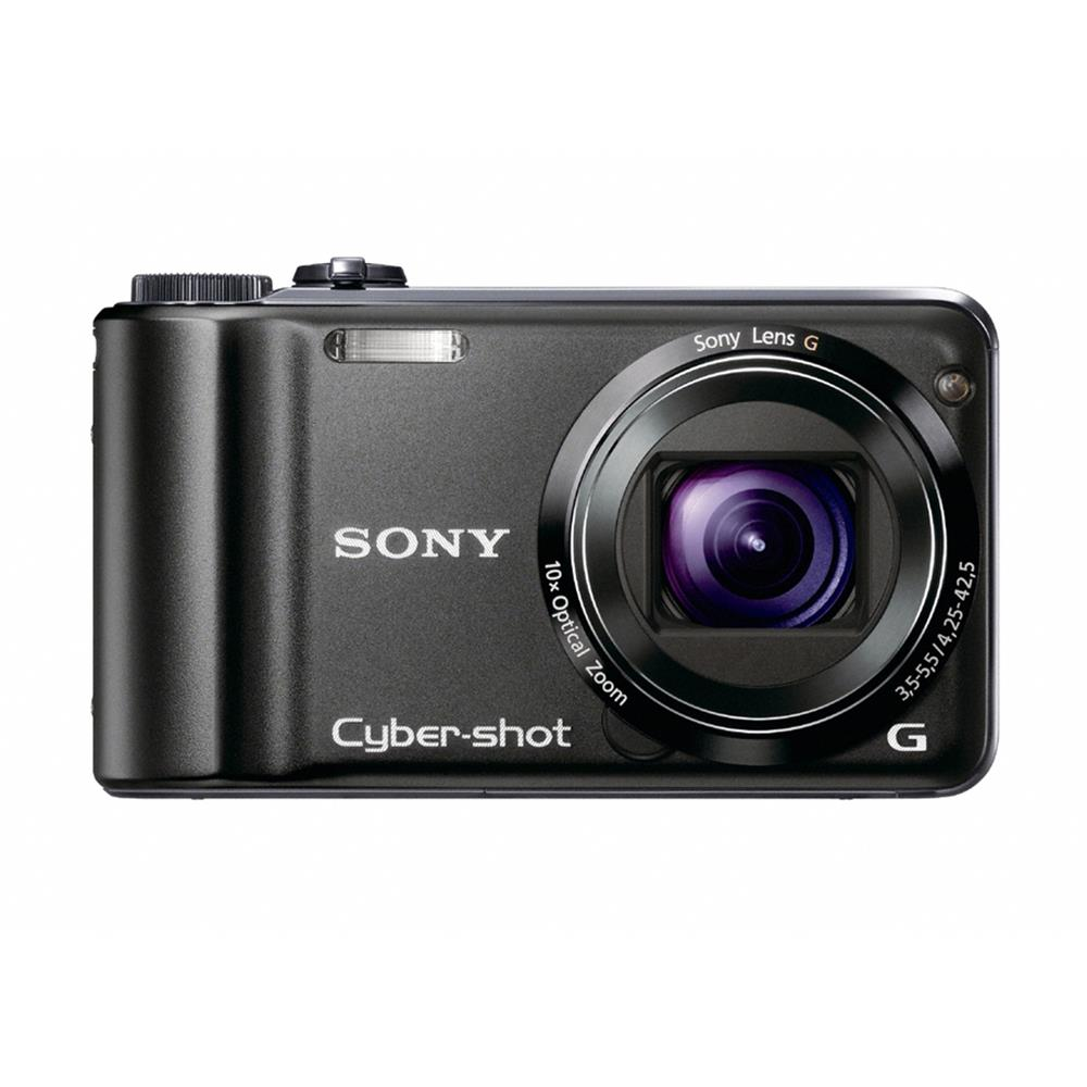 "SONY DSC-HX5VB BLACK 10MP 10X 3""LCD 25MM"
