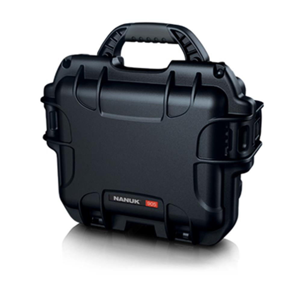 NANUK 905-1001 CASE BLACK W/FOAM