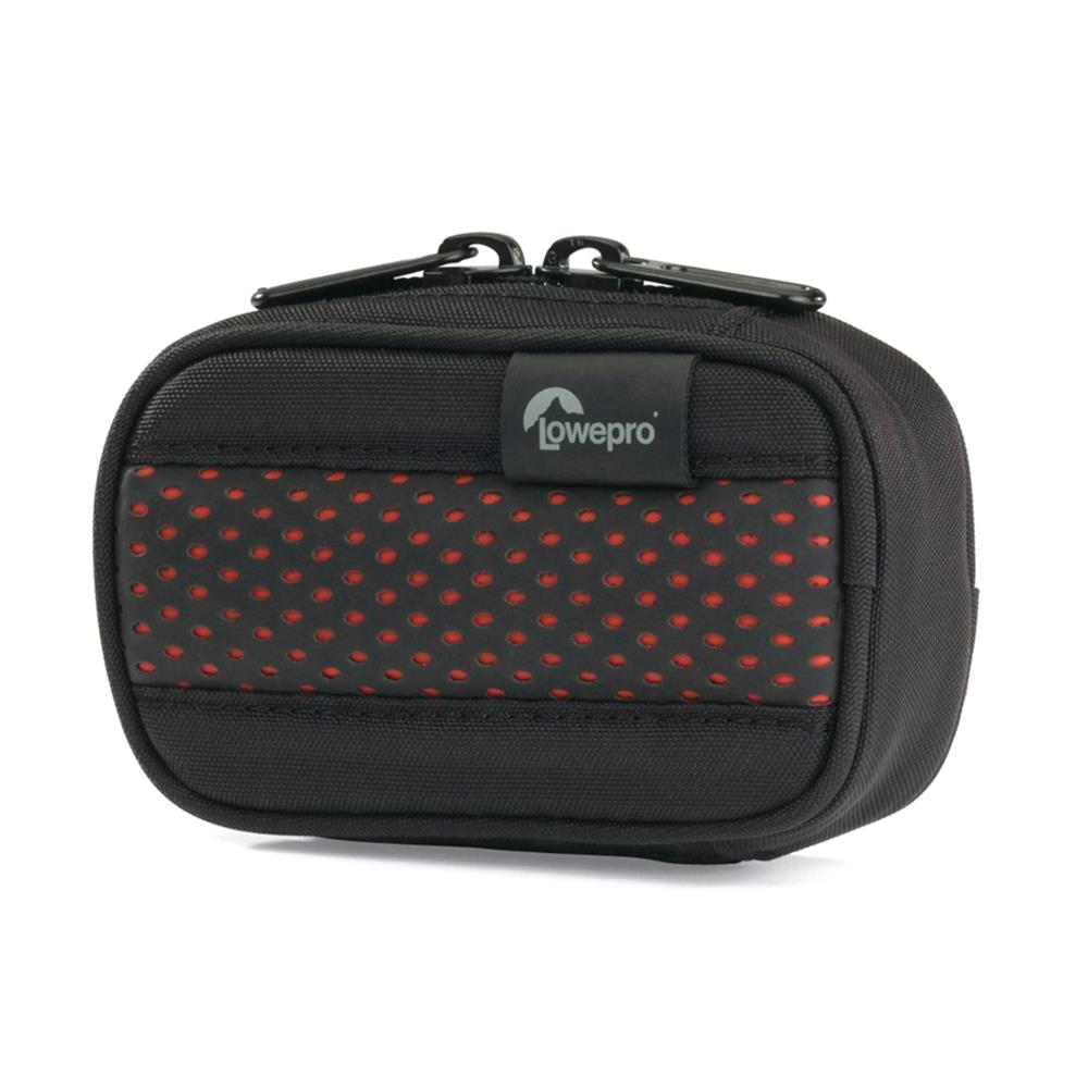 LOWEPRO MUNICH 10 BLACK/RED POUCH
