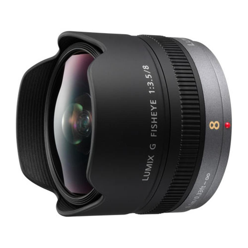 PANASONIC LUMIX 8MM F3.5 FISHEYE (M-4/3)