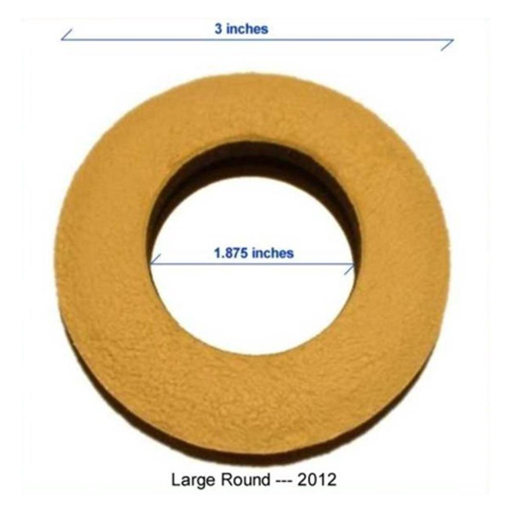 CHAMOIS ROUND LARGE EYECUSHION 2012