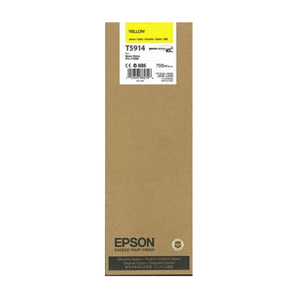 EPSON 700ML YELLOW INK (11880)