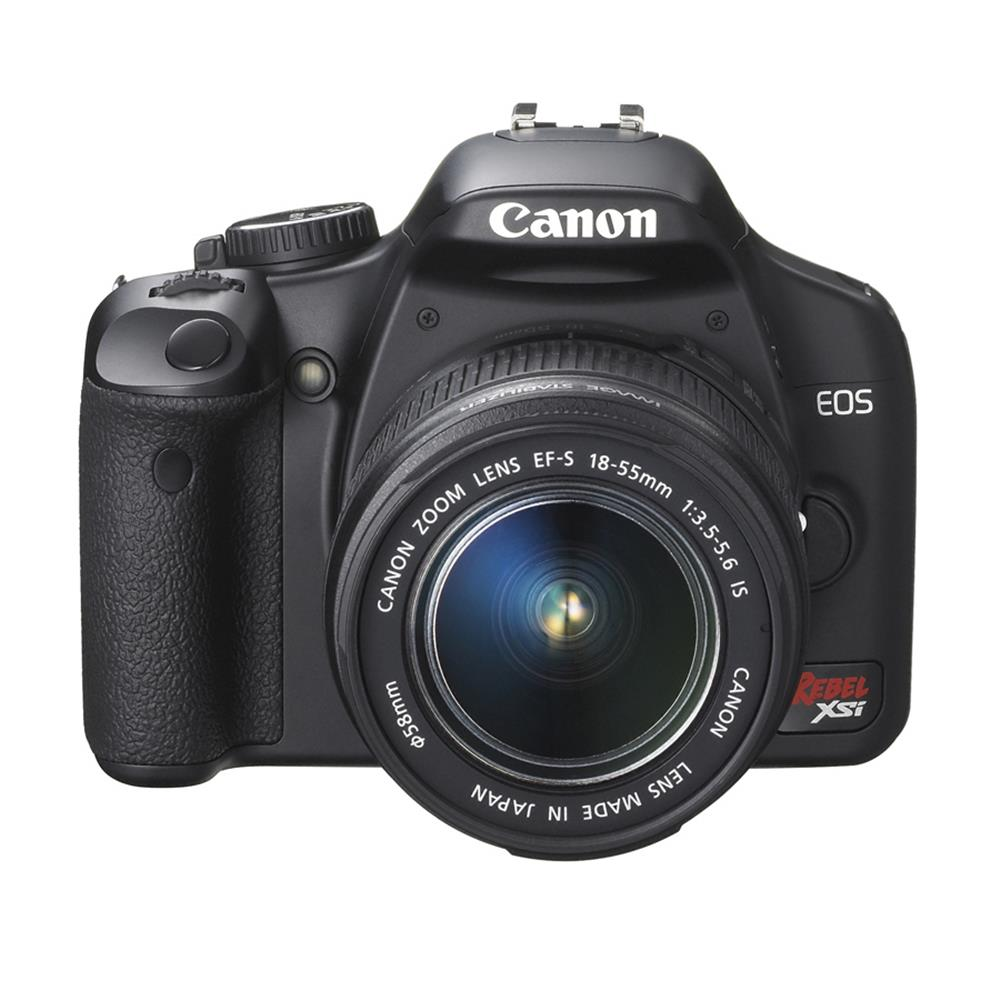 CANON D-REBEL XSI W/ 18-55 IS BLACK