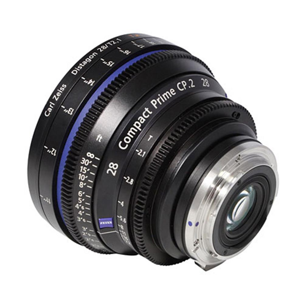 ZEISS CP.2 28MM T2.1 CINE LENS (FEET) EF
