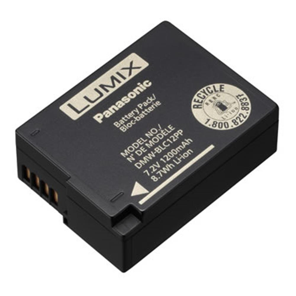 PANASONIC BATTERY DMW-BLC12 (FZ200,G6,GH2)