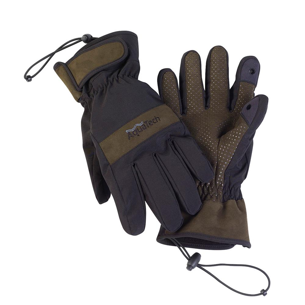 AQUATECH SENSORY GLOVES L (BLACK/MOSS)