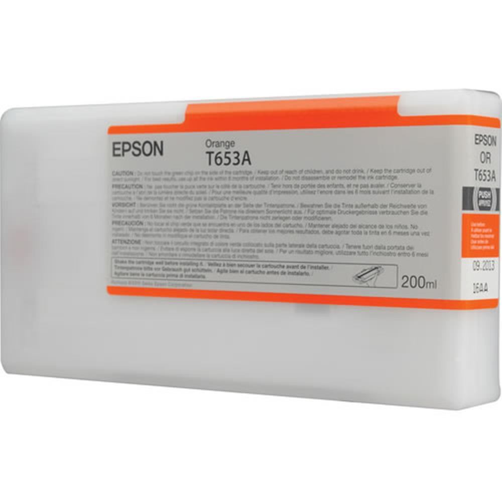 EPSON 200ML SP4900 INK ORANGE