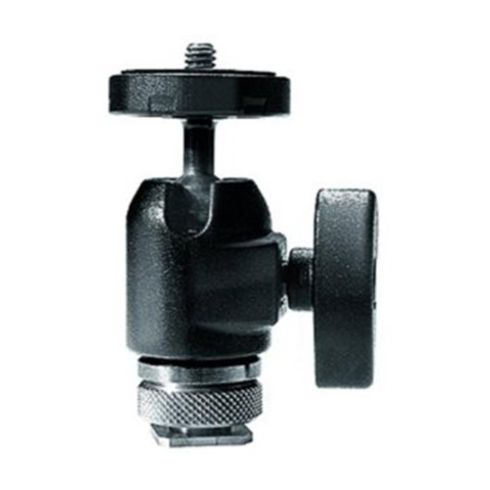 MANFROTTO MICRO BALL HEAD W/HOT SHOE