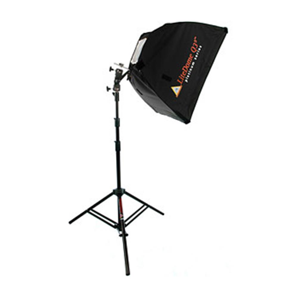 PHOTOFLEX SM LITEDOME KIT W/SWIVEL&STAND