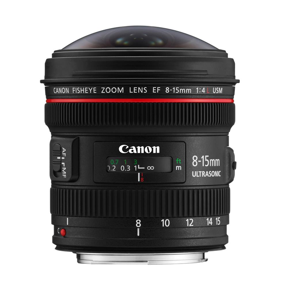 CANON EF 8-15MM F4.0L USM FISHEYE ZOOM