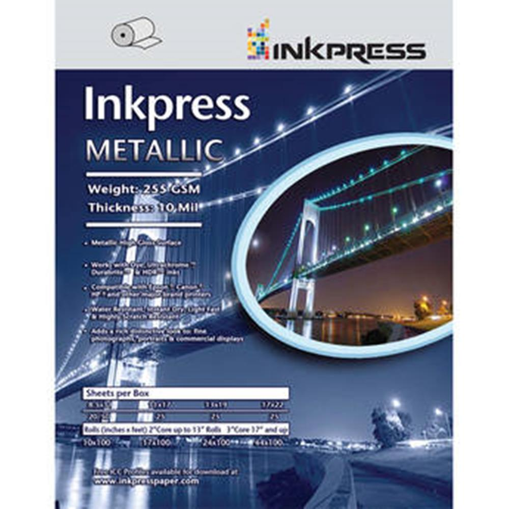 "INKPRESS METALLIC GLOSS 24""X100' ROLL"