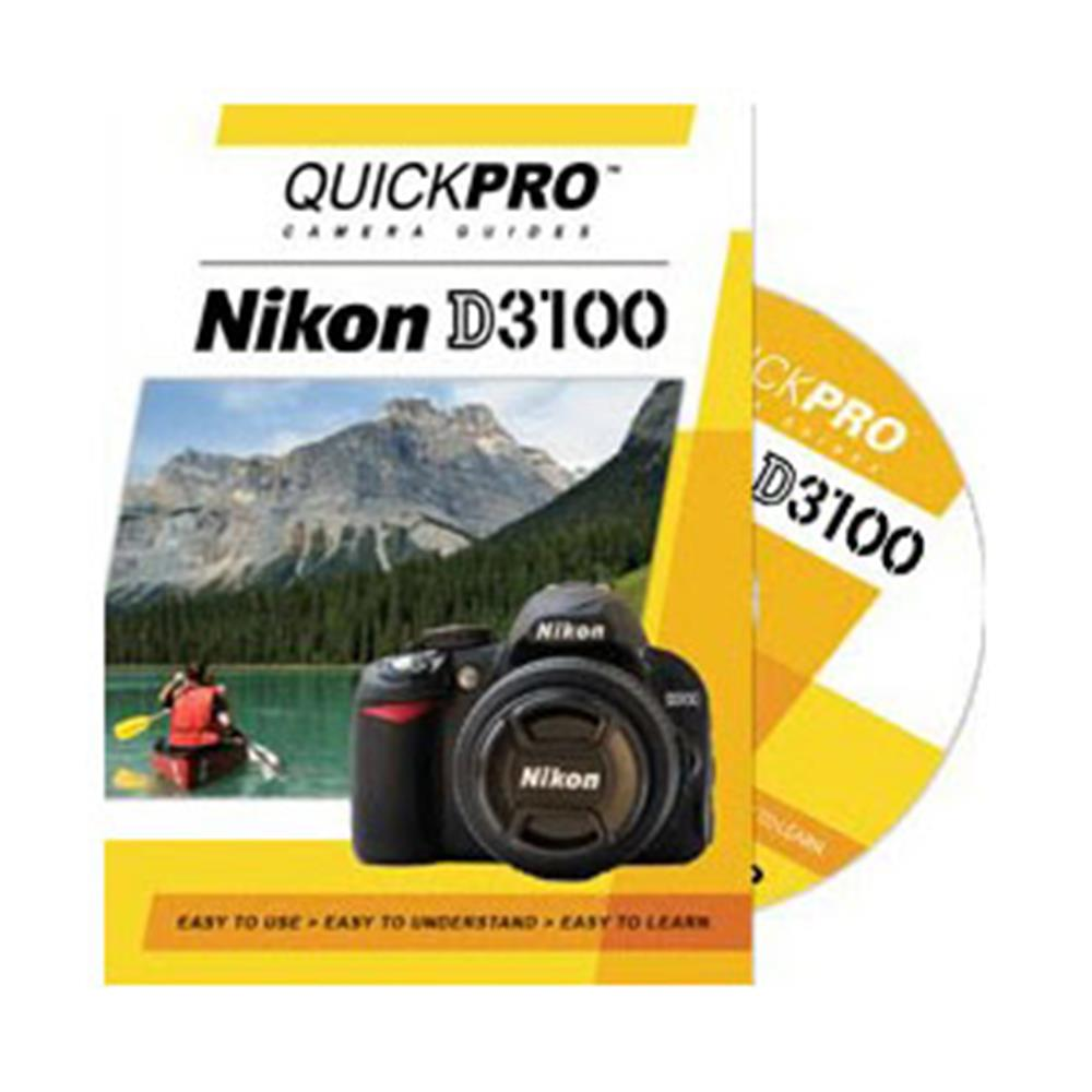 QUICKPRO NIKON D3100 CAMERA GUIDE