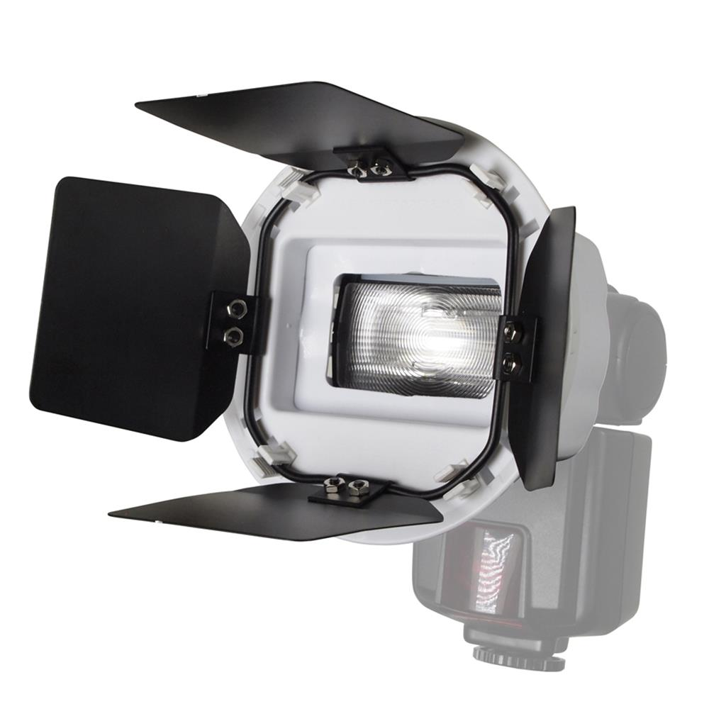 EASY-GO SPEEDLITE BARNDOOR