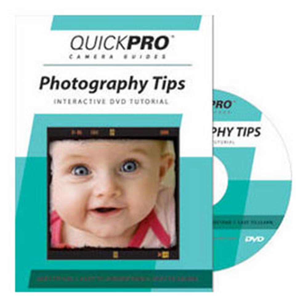 QUICKPRO PHOTOGRAPHY TIPS DVD GUIDE