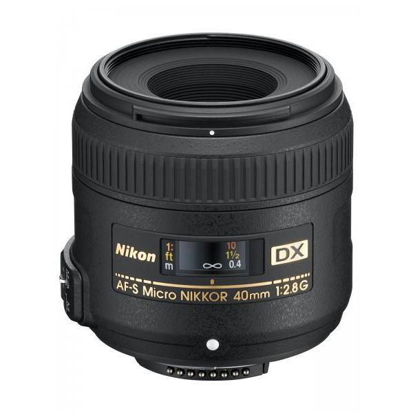Nikon AF-S DX MICRO-NIKKOR 40mm f/2.8 G Lens