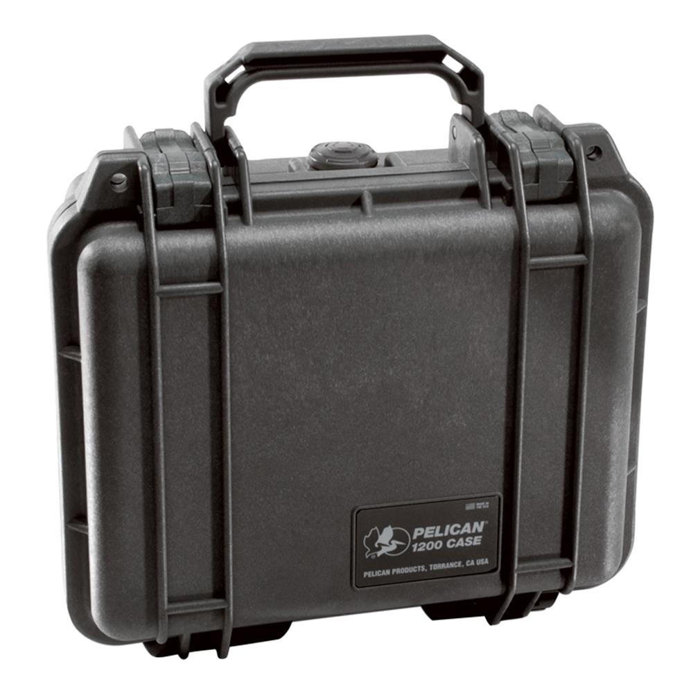 PELICAN 1200 CASE, BLACK W/FOAM