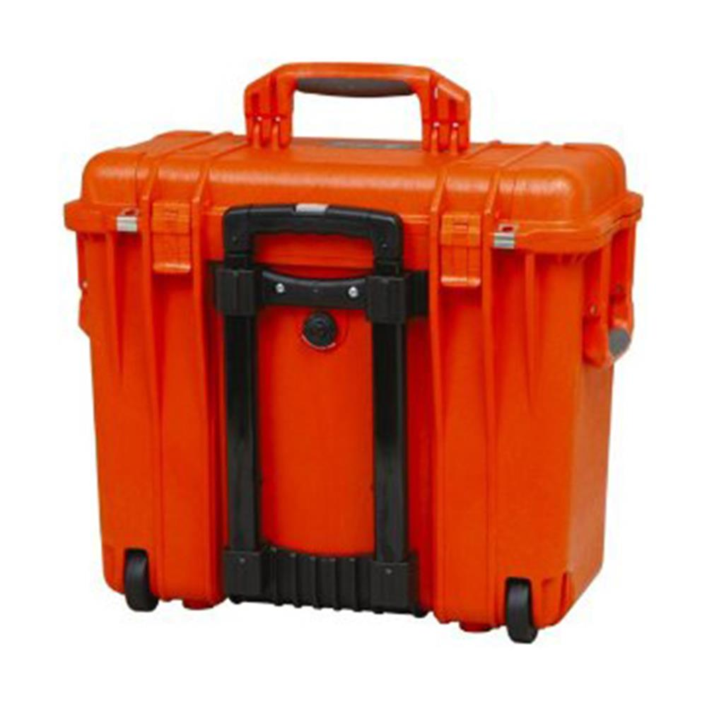 PELICAN 1500 CASE, ORANGE W/FOAM