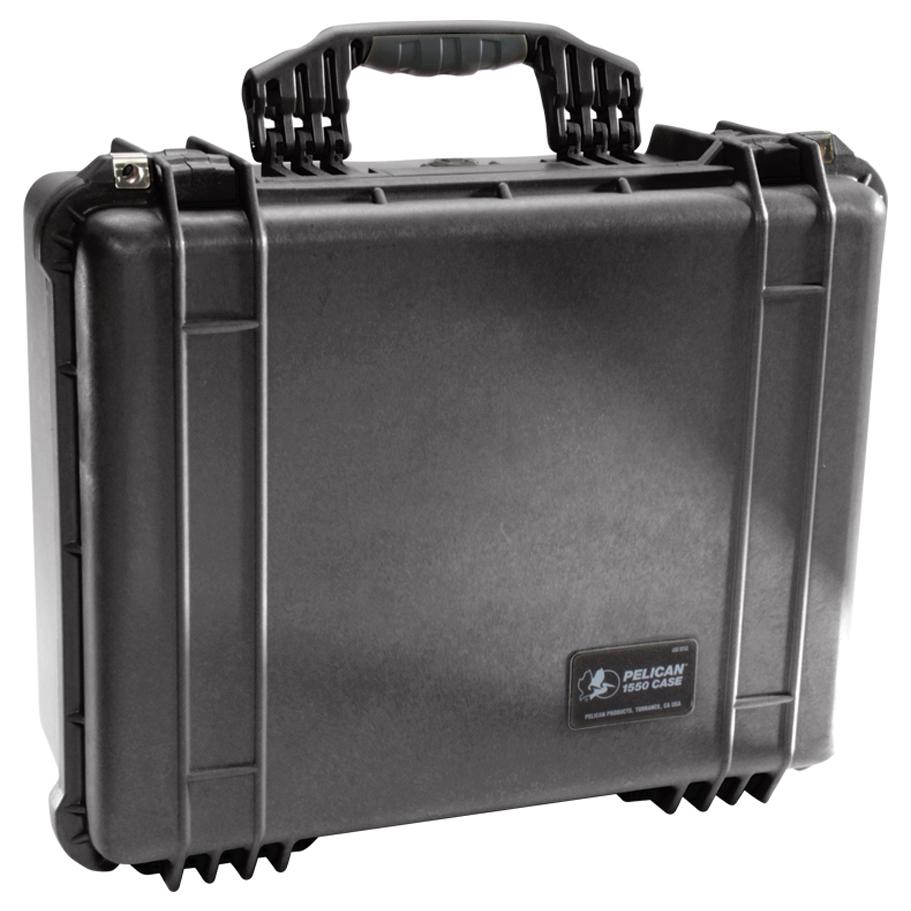PELICAN 1550 CASE, BLACK W/FOAM