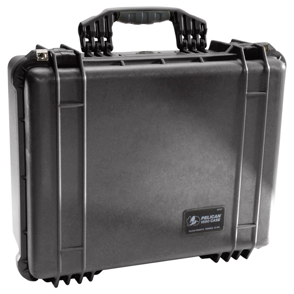 PELICAN 1550 CASE NO FOAM, BLACK