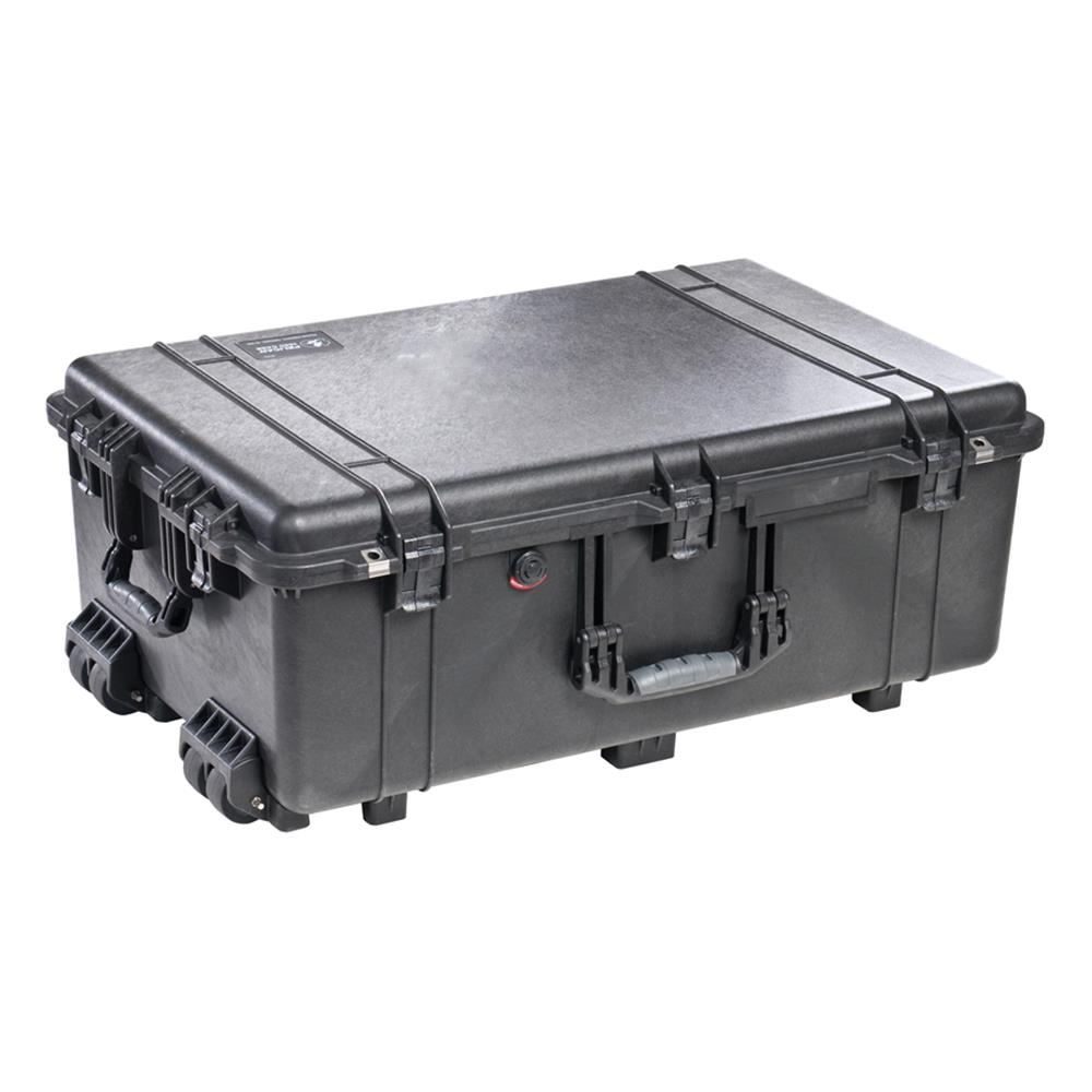 PELICAN 1650 CASE W/DIVIDERS, BLACK
