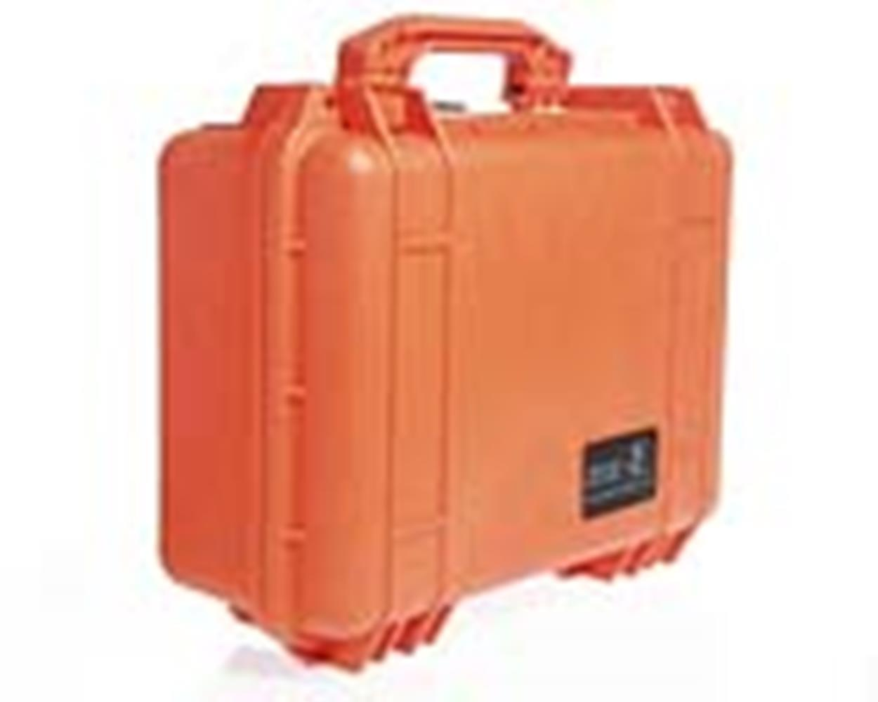 PELICAN 1450 CASE, ORANGE W/FOAM