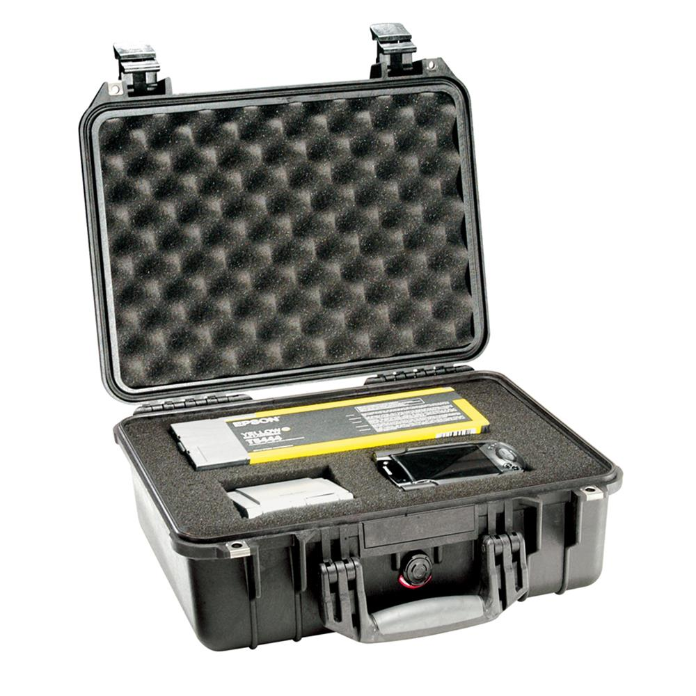 PELICAN 1450 CASE, BLACK W/FOAM