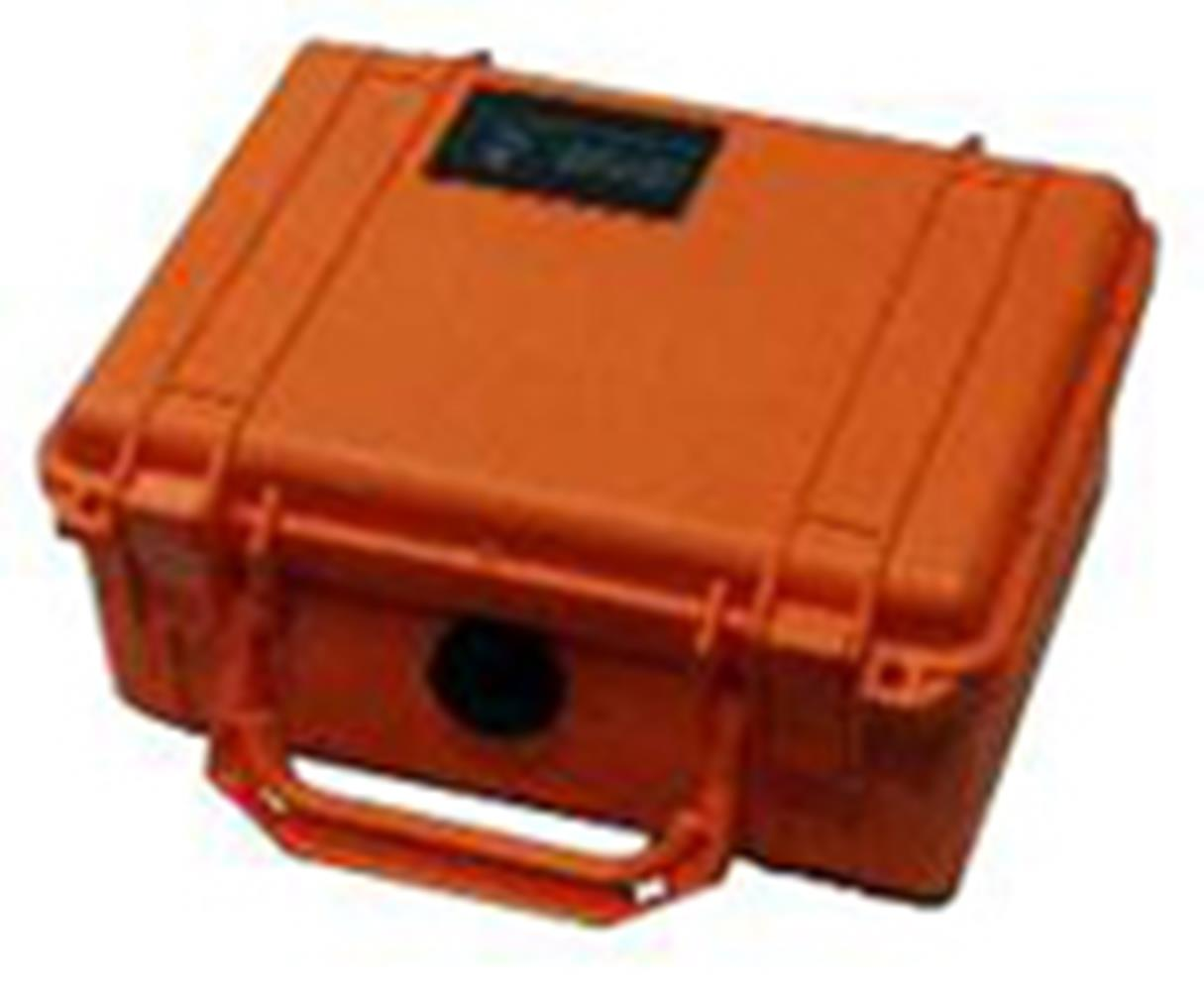 PELICAN 1520 CASE, ORANGE W/FOAM