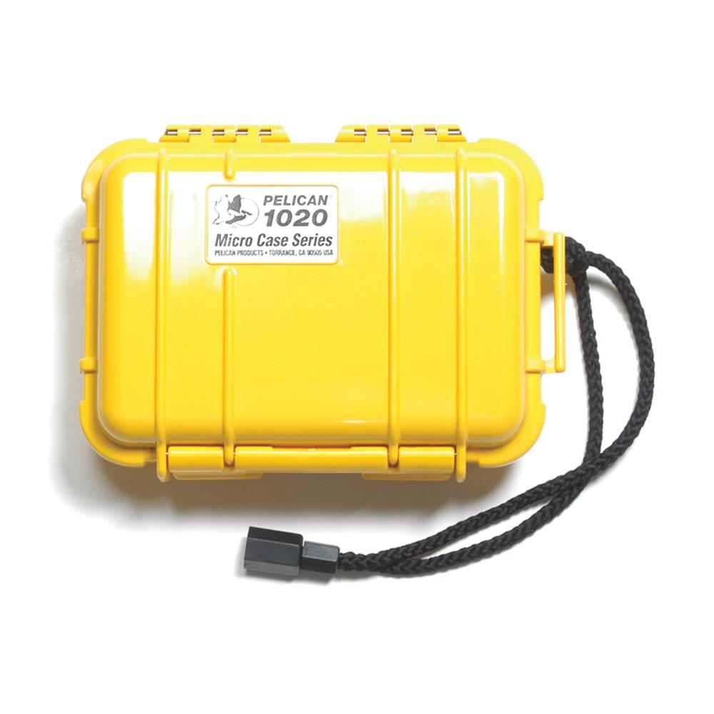 PELICAN 1020 MICRO CASE, YELLOW