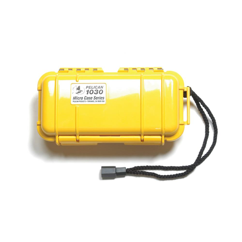 PELICAN 1030 MICRO CASE, YELLOW