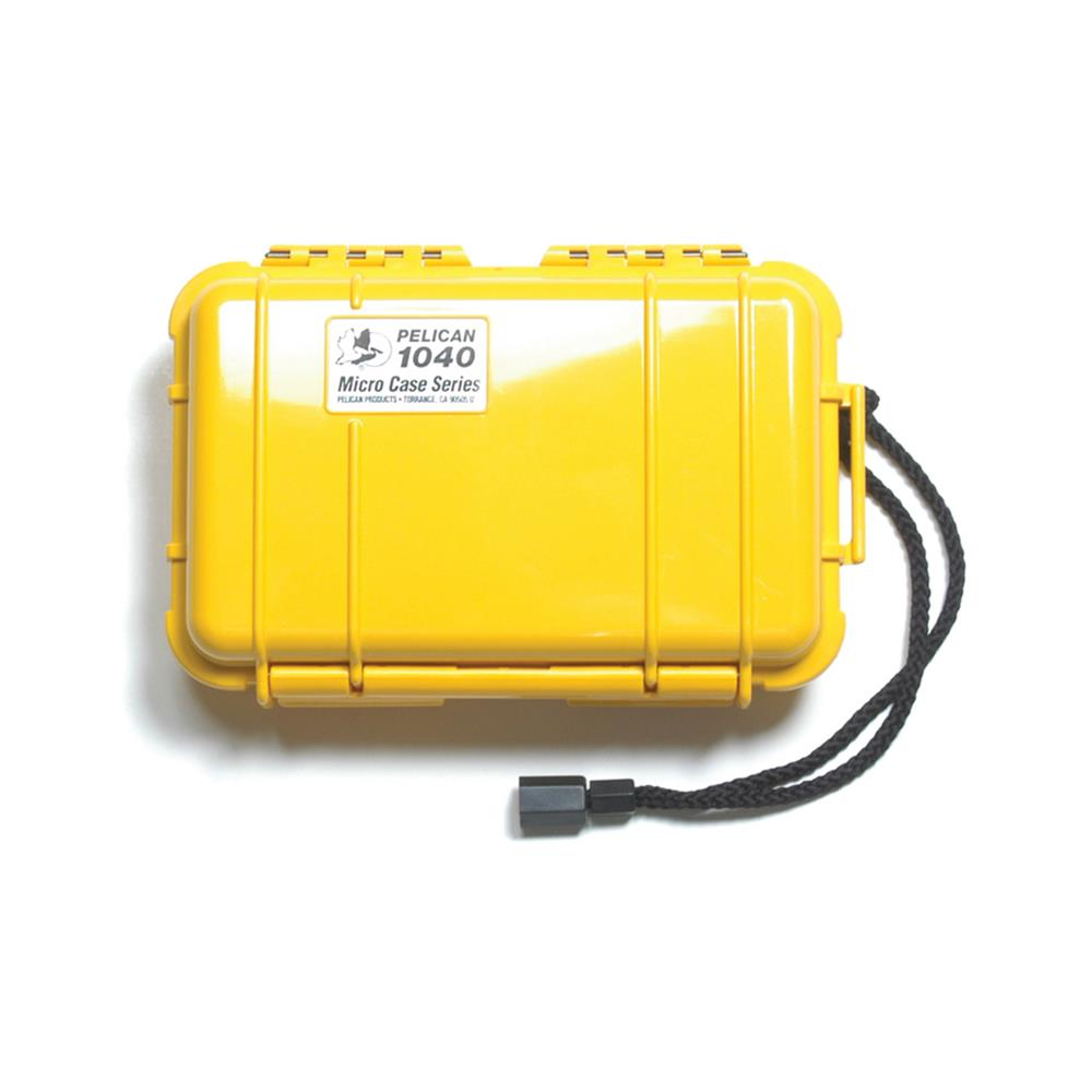 PELICAN 1040 MICRO CASE, YELLOW