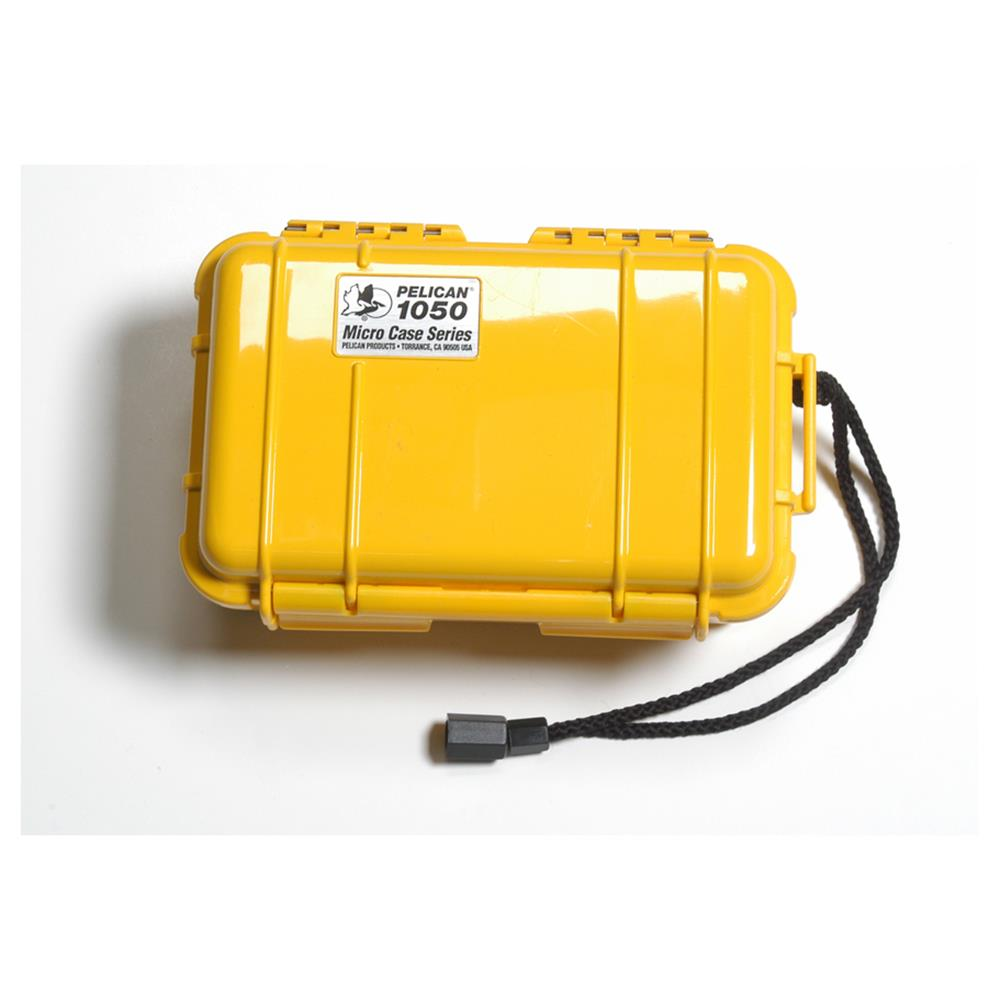 PELICAN 1050 MICRO CASE, YELLOW