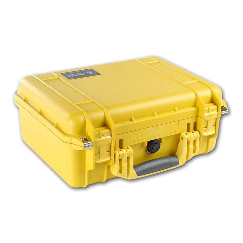 PELICAN 1300 CASE W/FOAM, YELLOW
