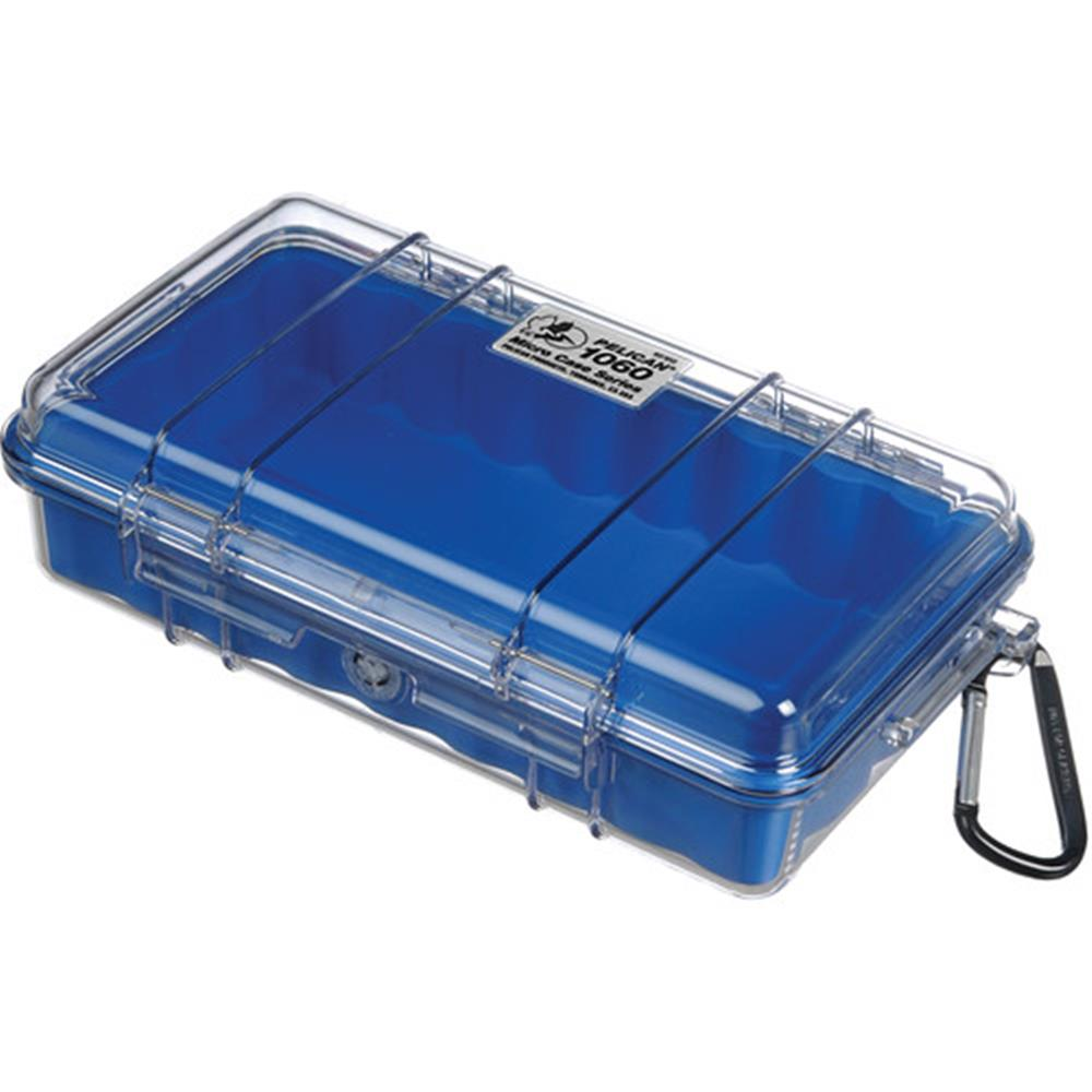 PELICAN CLEAR 1060 MICRO CASE, BLUE