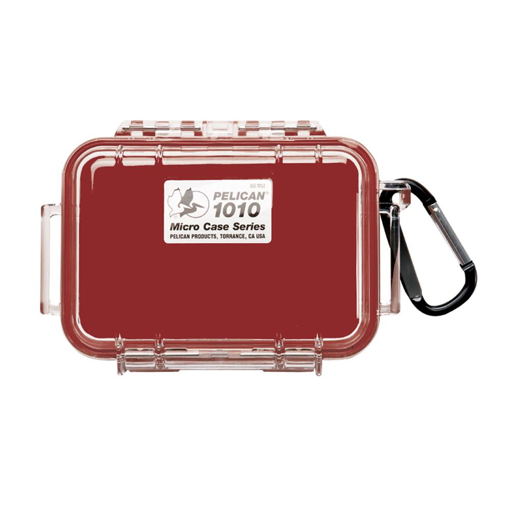 PELICAN 1010 MICRO CASE, RED