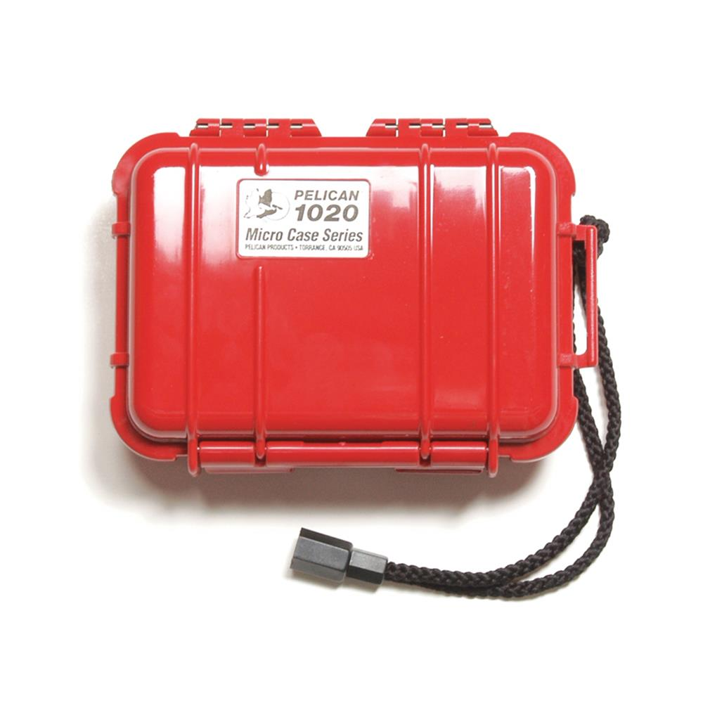PELICAN 1020 MICRO CASE, RED