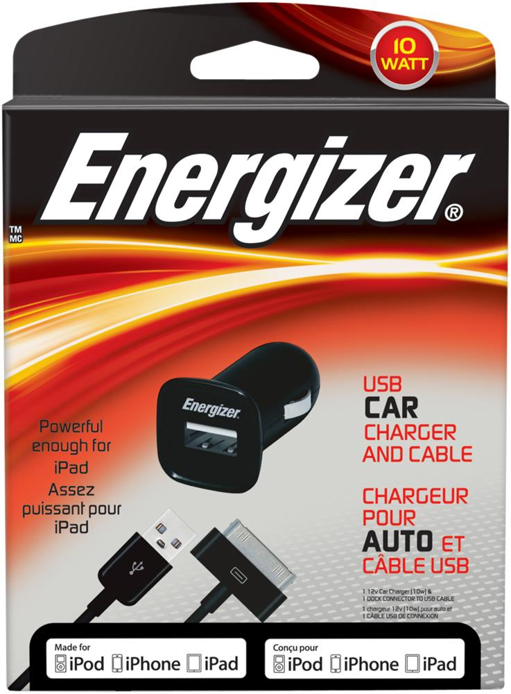 ENERGIZER 10W USB CAR CHARGER PC-1CAT